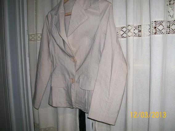 Conjunto Pantalon Y Saco Dama