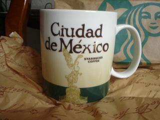 Taza Starbucks City Mug Icono Ciudad De México Descontinuada
