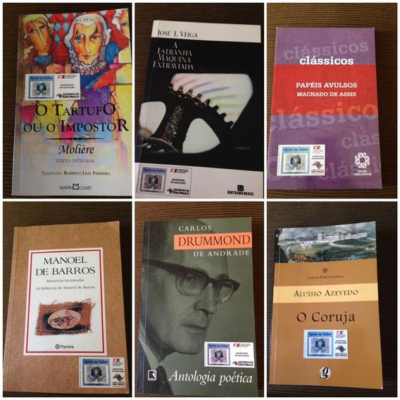 Lote De Livros Literatura Nacional Brasileira
