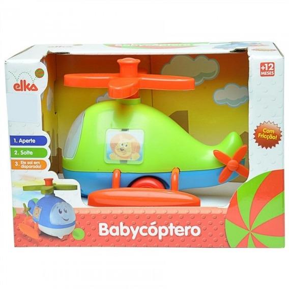 Helicóptero Infantil De Brinquedo - Babycoptero - Elka 799