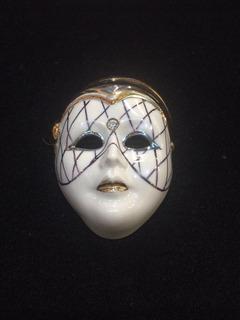 Máscara De Porcelana Galos - Made In Portugal - Coleção