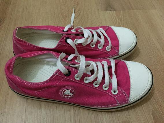 Tenis Crocs Rosa Pink Tamanho 39 Original
