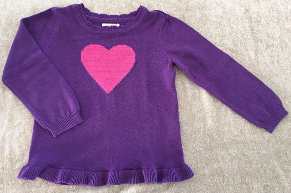 Childrens Place Sweater Hilo Brillos Nena Buzo Lv Importados