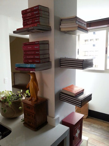 Prateleira Invisível Para Livros Kit Com 05 Pçs