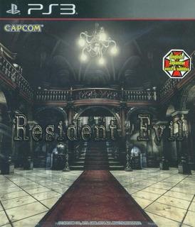 Resident Evil 1 Hd Ps3 | Digital Oferta Insuperable Unica
