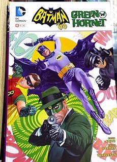 Batman 66 Conoce A Green Hornet: Libro Tapa Dura Español