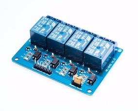 Arduino Molulo Rele 4 Canais Pic Avr Dsp Arm