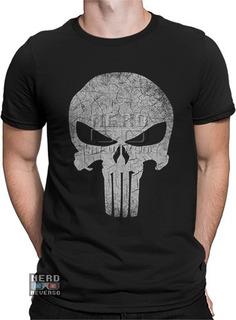 Camisa, Camiseta Justiceiro Punisher Frank Castle Hq