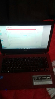 Notebook Acer D.core 2g-32g W10 Red
