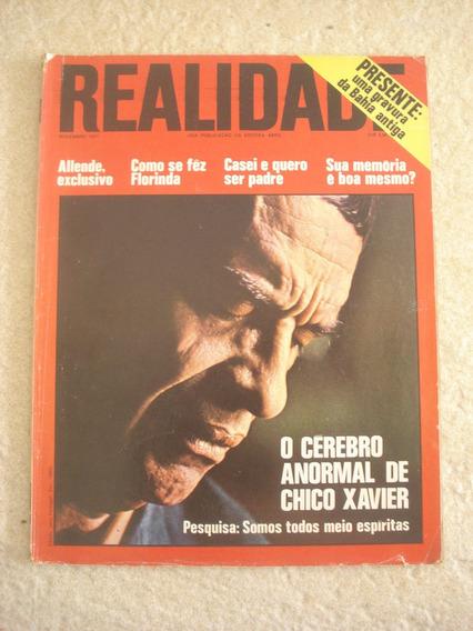 Revista Realidade 68 Chico Xavier Bahia Ano 1971 E915