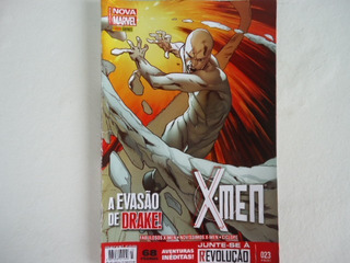 Hq Nova Marvel X-men A Evoluçao De Drake N 23
