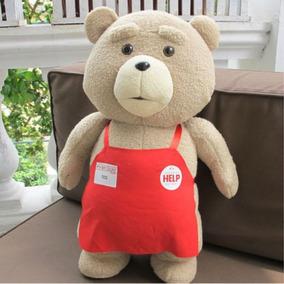 Pelúcia Urso Ted - Grande 50cm - A Pronta Entrega Frete Gra