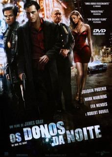 Dvd Os Donos Da Noite - Mark Wahlberg - Original Lacrado