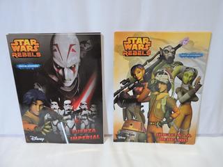Libros Colorear Star Wars Rebels 10 Pzas Recuerdos Bolos