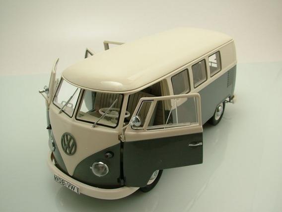 Miniatura Volkswagen Bus Vw Kombi T1 Schuco 1/18