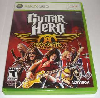 Guitar Hero Aerosmith Xbox 360 Barato