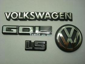 Kit Emblema Vw Volkswagen Gol Voyage Passat Parati Saveiro