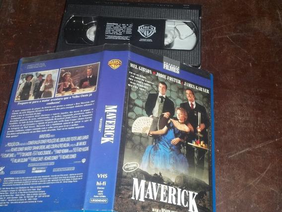 Fita Filme Vhs Maverick Legendado Mel Gibson