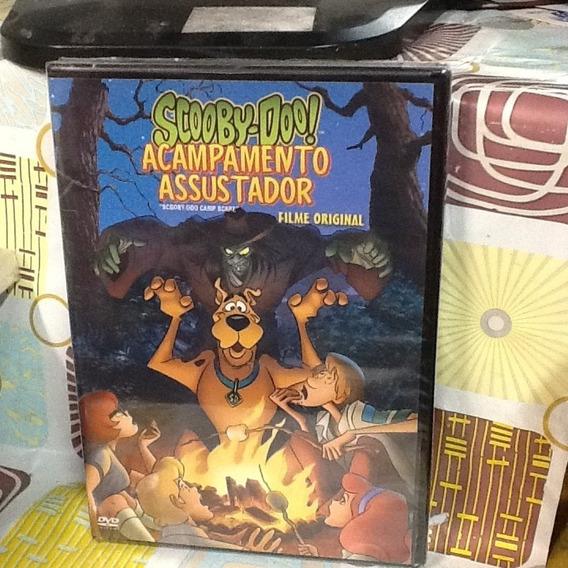 Dvd Scooby-doo Acampamento Assustador Filme Original
