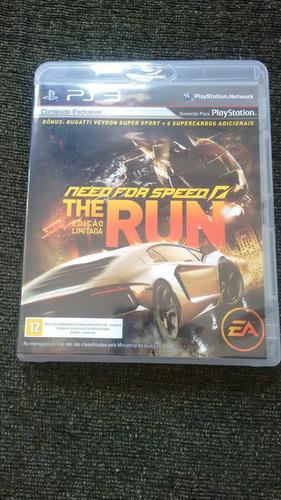 Need For Speed The  Run Edição Limitada Original , Sem Uso !