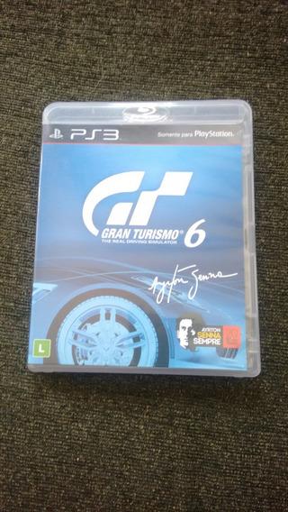Gran Turismo 6 Ps3 Original Semi Novo
