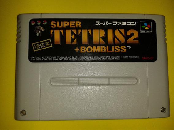 Tetris 2 + Bombliss Limited Edition Para Super Nintendo Snes