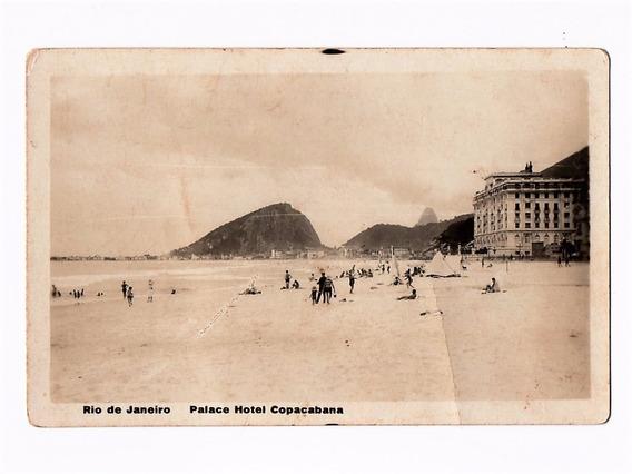 Cartao Postal Hotel Copacabana Palace Rj Anos 30
