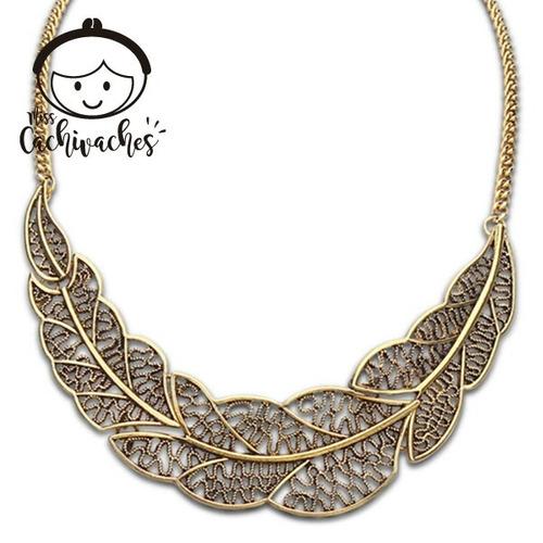 Imagen 1 de 1 de Collar Hojitas