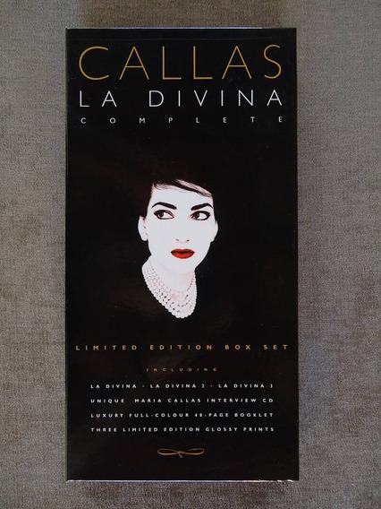 C A L L A S - La Divina - Box C/ 04 Cds