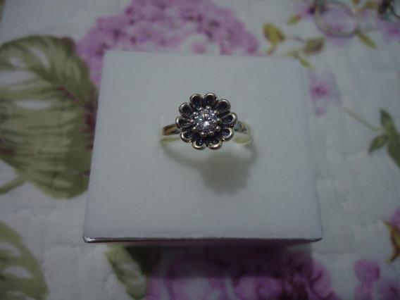 Anéis Margaridas Coloridas - Estilo Pandora-prata De Lei