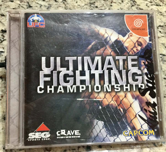 Cd De Dreamcast Ufc Ultimate Fifhting Championship Original