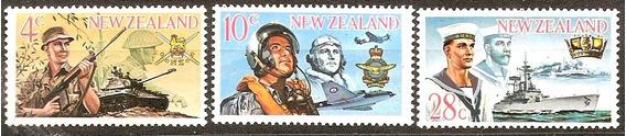 Fuerzas Armadas - Nueva Zelandia. Serie Completa Mint 468/70