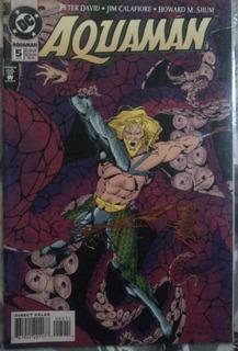 Aquaman #5 Dc Comics 1994 Marvel Avengers Ironmanl