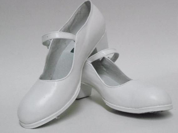 Zapato Para Baile Folklor 100% Piel Del 15al 28 Envio Gratis