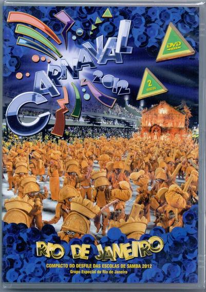 Dvd Duplo Carnaval 2012 - Rio De Janeiro