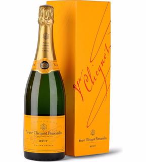 Champagne Veuve Clicquot Brut 750ml En Estuche