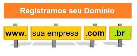 Domínio De Site .com.br + Certificado Ssl+hospedagem
