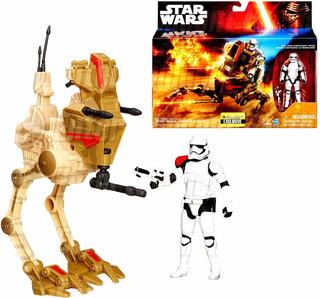 Star Wars The Force Awakens Assault Walker + Stormtrooper