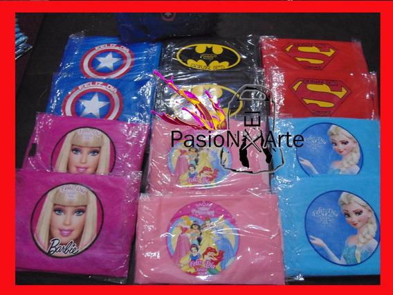 Capas Super Héroes,batman,mujer Marav,frozen, Princesa X20u