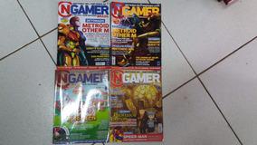 Coleção De Revistas Ngamer - Várias Edições (usadas)