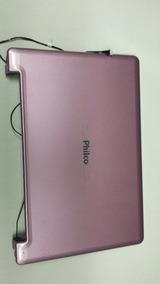 Carcaça Superior E Moldura Netbook Philco 10d-b123lm
