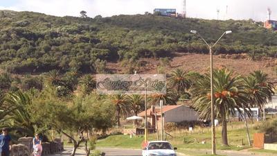 Predio Frente Al Mar Sobre Falda Del Cerro San Antonio.