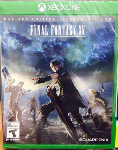 Final Fantasy 15 Xv  Xbox One Nuevo Sellado Oferta!