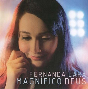 Kit Fernanda Lara - Magnífico Deus / 1 Cd + 1 Playback
