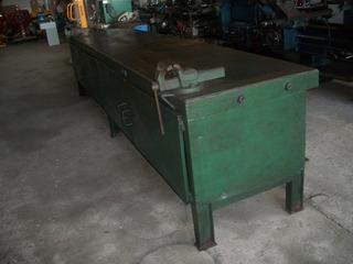 Mesa Bancada De Ajustagem Fabricação Em Chapa De Aço Usado