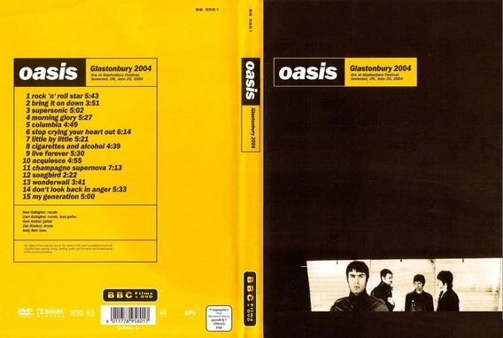 Oasis - Glastonbury 2004 Dvd - E