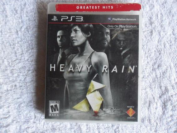 Jogo Ps3 - Heavy Rain - Mídia Física