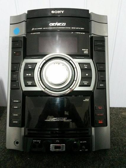 Gabinete Frontal Do Som Sony Mhc-gtx787