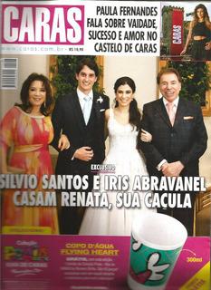 Revista Caras 1143-2015 - Silvio Santos - Paula Fernandes