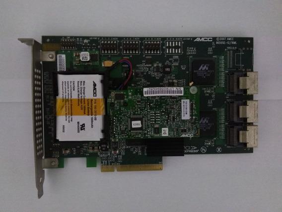 Placa Controladora Sas 3ware 9650se-12ml Pci-e + Bateria